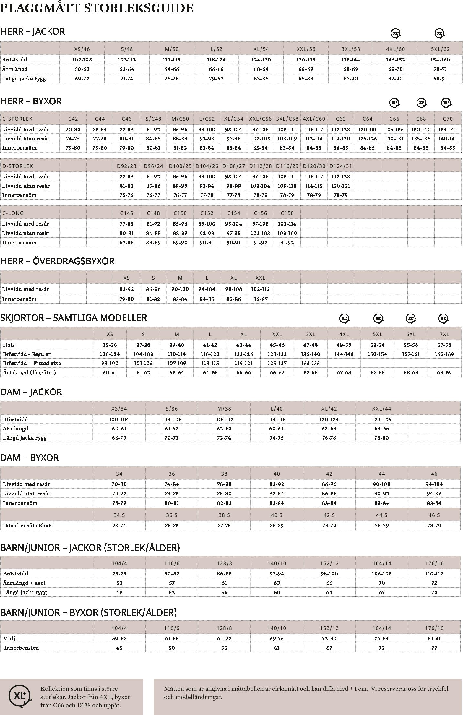 f13f1d276e2 Size Guide 2019 Page 2 SV