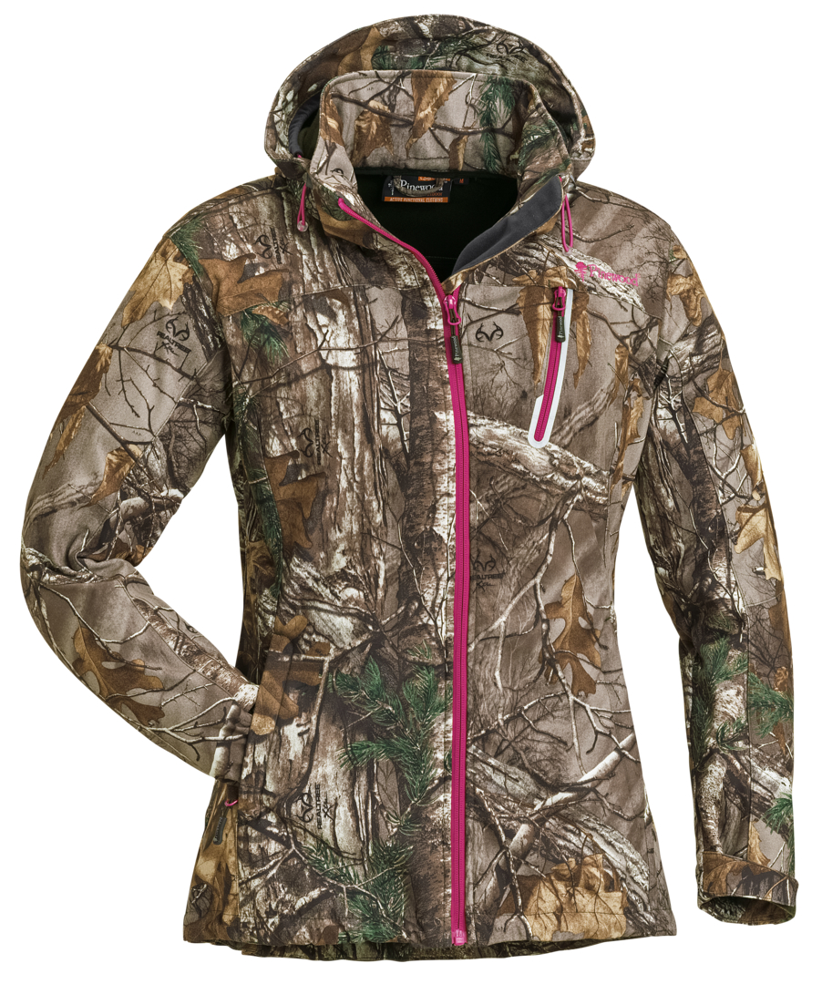 jacket pinewood camo stretch shell women jackets ladies products pinewood. Black Bedroom Furniture Sets. Home Design Ideas