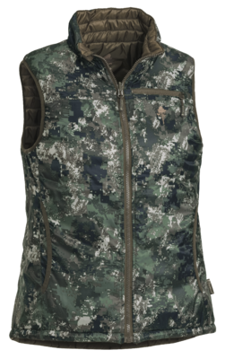 Vesta Pinewood Wolf Reversible CAMO - ladies