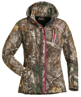 JAKKE PINEWOOD® CAMO STRETCH SHELL-DAME