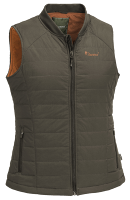 DAMES PADDED OUTDOOR VEST PINEWOOD® DELBERT