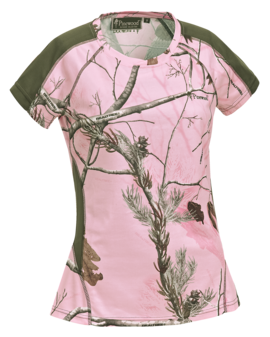 T-shirt Pinewood Ramsey Coolmax Camouflage - Dames