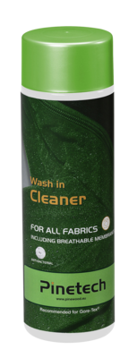 Wash-In-Cleaner Vaskemiddel for funksjonsplagg