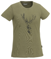 T-SHIRT PINEWOOD® RED DEER - DAMES 3038