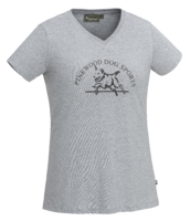 T-SHIRT DOG SPORTS - DAMES 3574