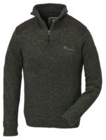 STRIKKET SWEATER PINEWOOD HURRICANE - DAME