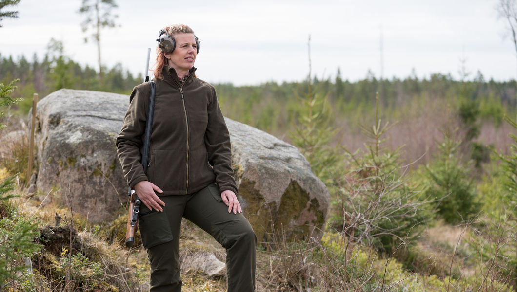 Fleecejacka pinewood retriever
